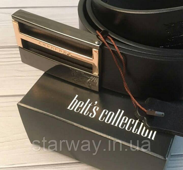 Кожаный ремень в коробке | натуральная кожа | оригинальная бирка