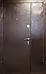 Двери входные ПУ-01 Орех коньячний, 1200, фото 3