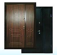 Двери входные ПУ-01 Орех коньячний, 1200