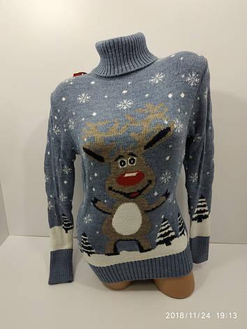 Вязаные женские шерстяные свитера оптом и в розницу G 4627, фото 2
