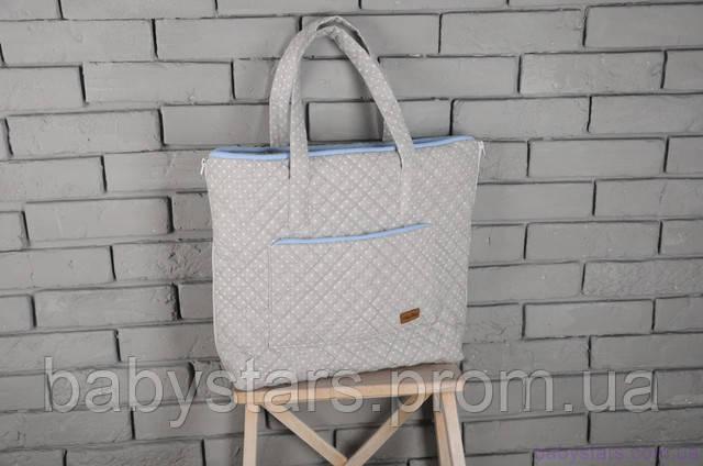 Стеганная сумка-пеленатор