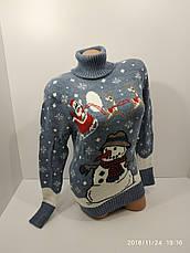 Вязаные женские шерстяные свитера оптом и в розницу G 4630, фото 3