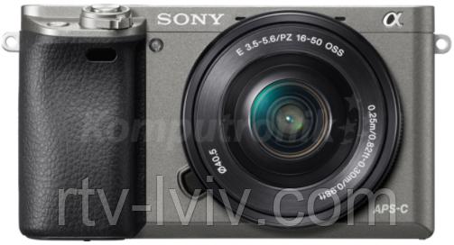 Фотоаппарат Sony Alpha ILCE-6000 + Sony SELP 16-50mm