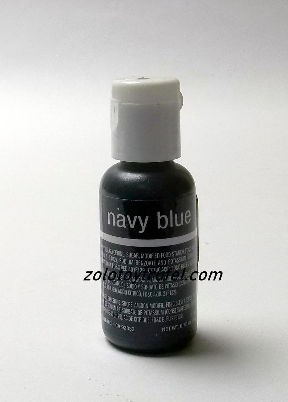"""Краситель гелевый """"Navy Blue 20 мл"""",Chefmaster"""