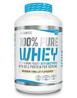 Сывороточный протеин BioTech - 100% Pure Whey (1000 грамм) banana/банан