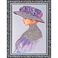 """Набор для вышивания бисером на холсте АбрисАрт """"Виолет"""" АВ-002"""