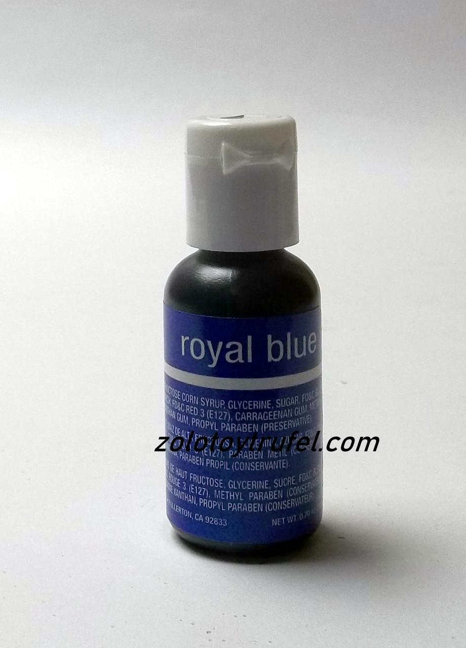 "Краситель гелевый ""Royal Blue 20 мл"",Chefmaster"