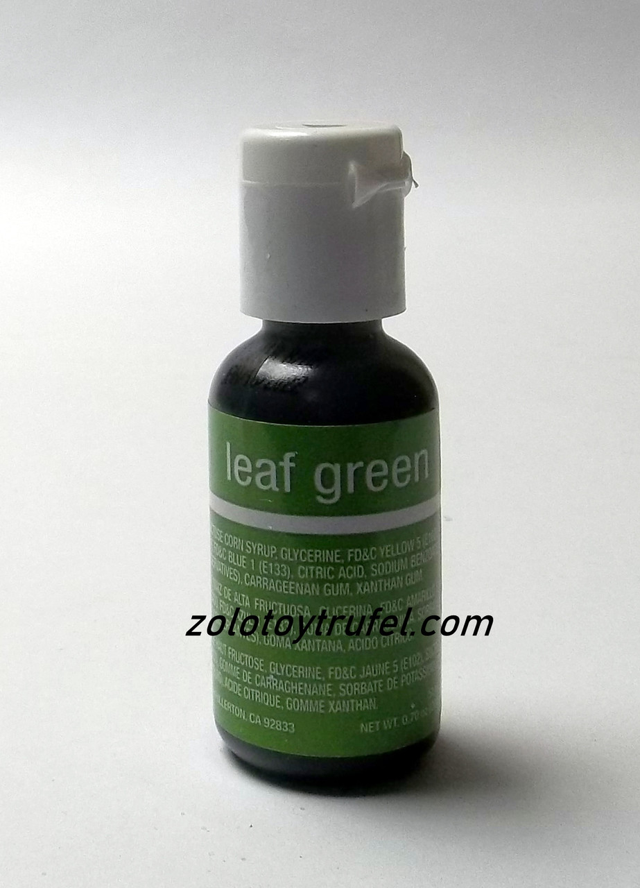 "Краситель гелевый ""Leaf Green 20 мл"",Chefmaster"
