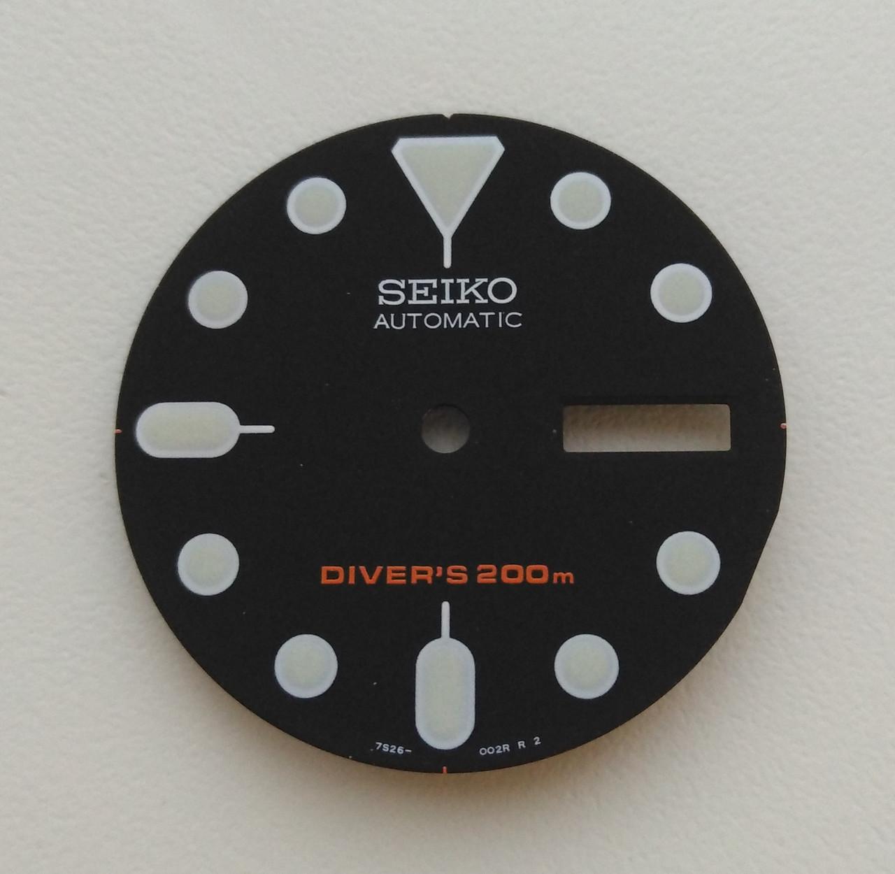 Циферблат часов Seiko SKX007