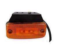 Габаритный фонарь для грузовика LED желтый (LD-180)/UK3/342