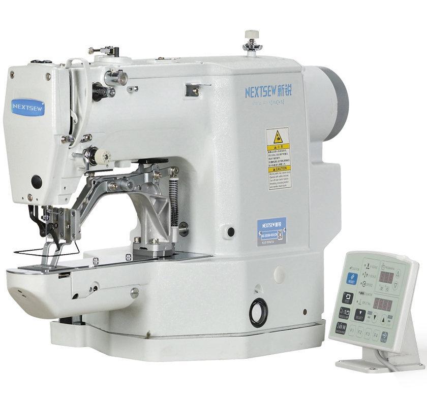 Nextsew NS-430D-06, компьютерная закрепочная машина для сшивания эластичной ленты, рабочее поле 40 x 9 мм