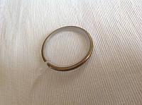 Кольцо для карниза ,внутренний диаметр 38мм., цвет антик, бесшумное , с ушком для крюка, или прищепки.