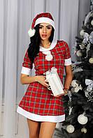 Новогоднее платье Снегурочка