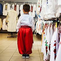 Шаровары для мальчика красные, фото 3