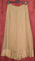 Длинная жатая юбка