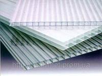 Полікарбонат сотовий (стільниковий) SOTON  прозорий 8мм 2,1*6м