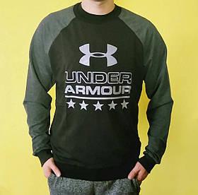 Кофта мужская L/XL under armour свитер реглан