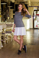 Короткое  платье в спортивном стиле 1021