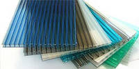 Полікарбонат сотовий (стільниковий) SOTON  кольоровий 4мм 2,10*6м