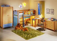 """Кровать  """" Эльф"""" с игровой зоной"""