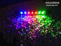 Подводная светодиодная  лампа 30LED, трехцветная