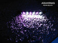 Подводная светодиодная  лампа 30 LED, розовая с белым