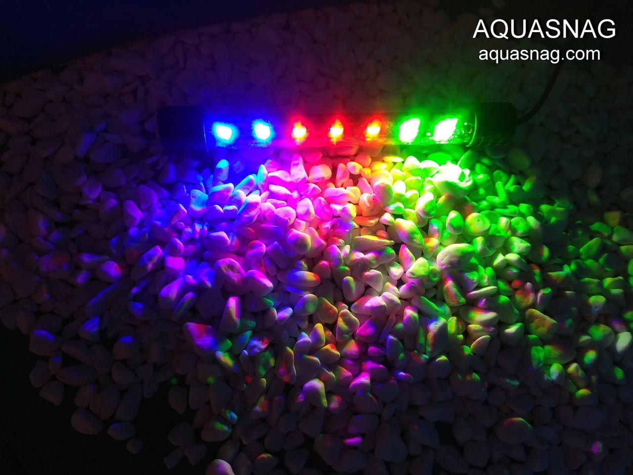 Подводная светодиодная  лампа 40 LED, трехцветная