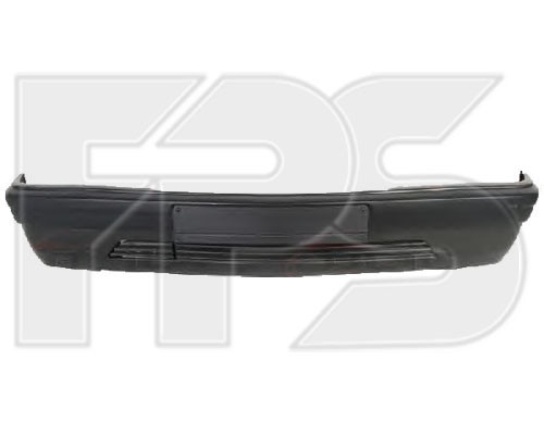 Бампер с Mercedes 201 -93 накладкой (цельнолитой) (пр-во FPS)