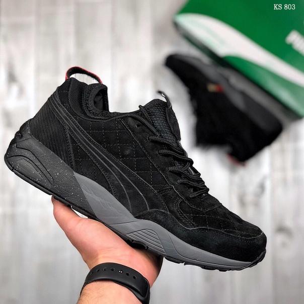 Мужские кроссовки Puma Trinomic (черные)