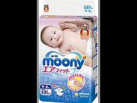 """Подгузники детские """"Moony"""" S (4-8 кг) 81 шт."""