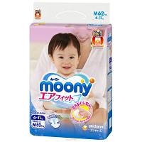 """Подгузники детские """"Moony"""" M (6-11 кг) 62 шт."""