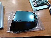 Вкладыш зеркала правый с обогревом асферический BLUE 4pin BMW X5 E70 / X6 e71
