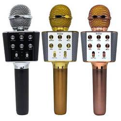 Бездротовий мікрофон-караоке WSTER WS-1688 оригінал