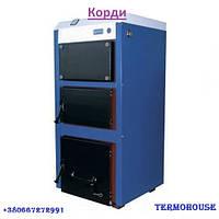 """Твердотопливный котел для дома  """"КОРДИ"""" АОТВ 14СТ мощностью 14 кВт"""