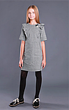 Серое платье р-ры 122,128,134,140,146,152,158,164, фото 2