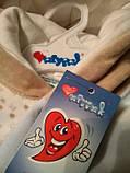 Велюровий комбінезон бавовняний для малюка, фото 7