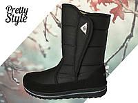 Дутики женские зимние ботиночки 36-39 размер  Pretty Style 1.1 , фото 1