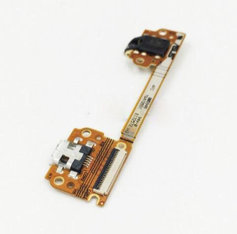 Шлейф (Flat, Flex cable) для планшета Asus ME370 Google Nexus 7 с разъемом зарядки и компонентами