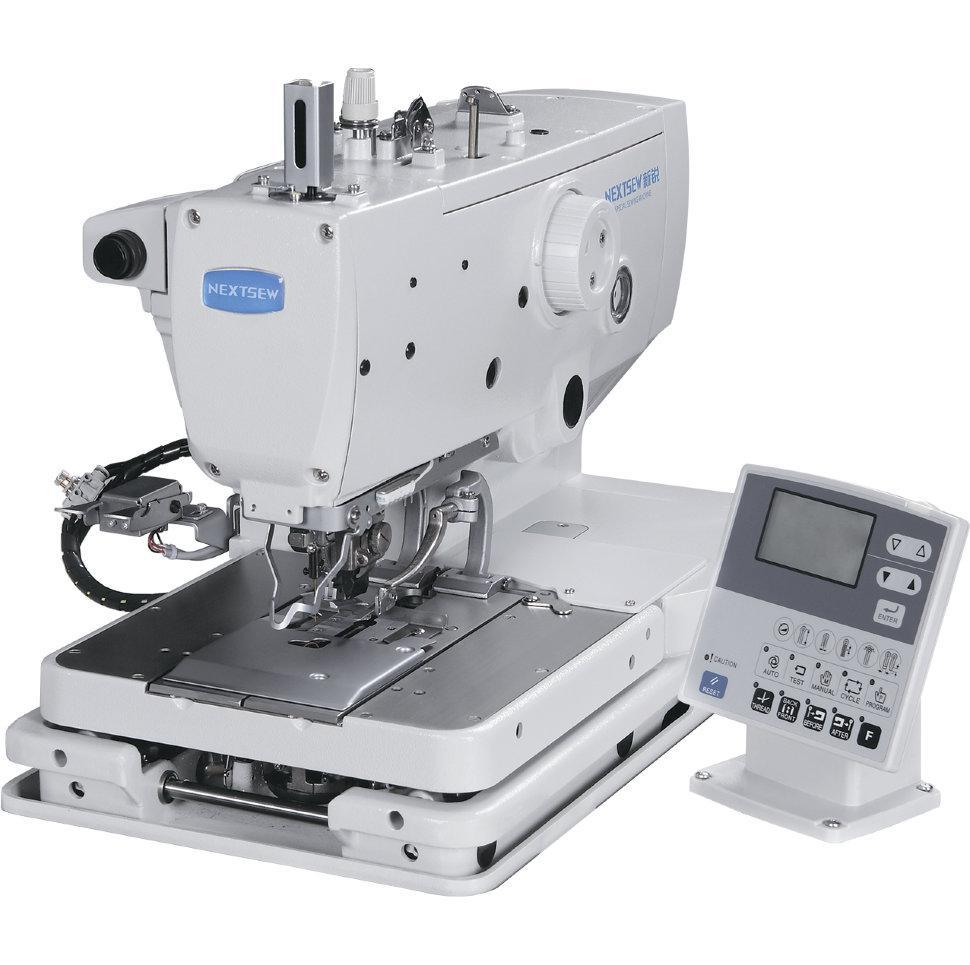Nextsew NS-9820-01, компьютерная глазковая петельная швейная машина цепного стежка