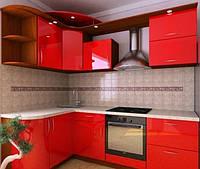 """Кухня """"Красный закат"""""""