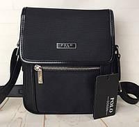 Небольшая мужская сумка Polo .Высокое качество. Материал Оксфорд КС48
