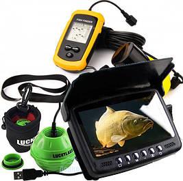 Эхолоты и подводные видеокамеры (экшн-камеры для экстрима и видеоудочки для рыбалки)