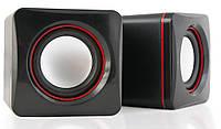 Колонки для компьютера 2.0 HQ-Tech HQ-SP194U Black-Wine USB, акустика, акустическая система