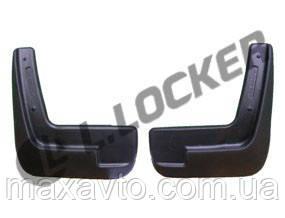 Брызговики Chevrolet Aveo II SD (12-) (Шевроле Авео 2) (2 шт) передние (Lada Locker)