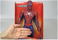 Фигурка супергероя Человек Паук, подвижные руки, ноги, голова, тело, Спайдер Мен, Spider Man, фото 1