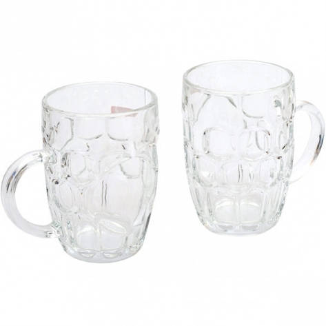 Бокал для пива 0,5 л стекло, фото 2