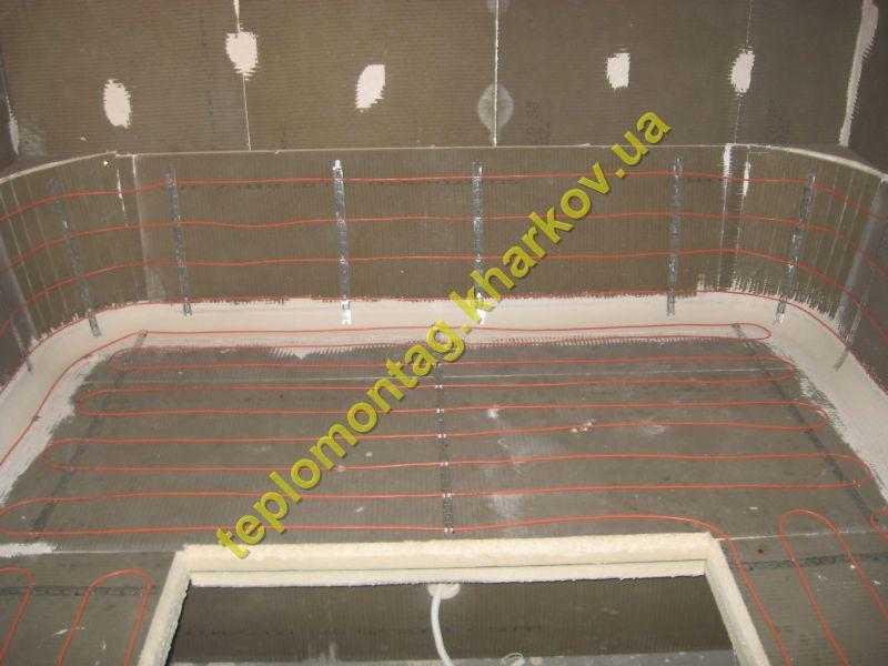 Установка и монтаж электрического подогрева в бане