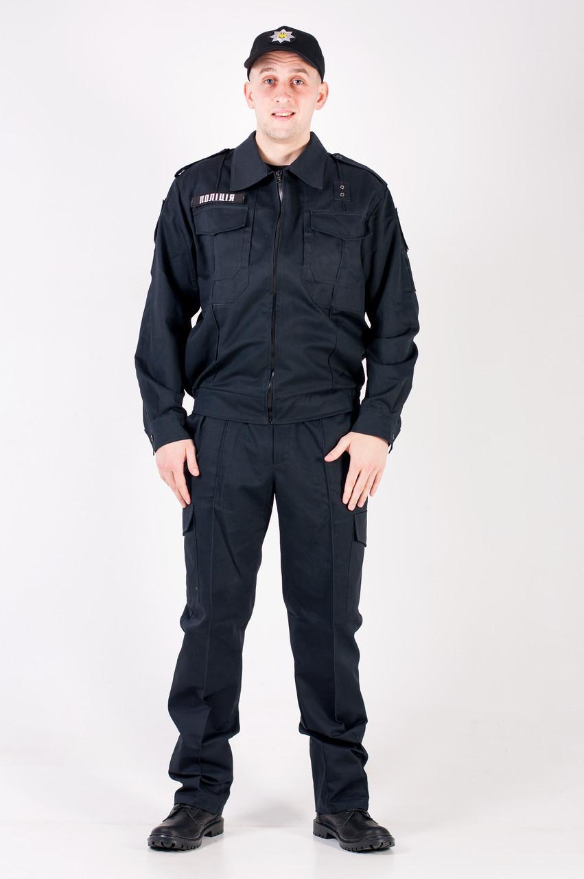 Костюм Полиция премьер на пуговицах