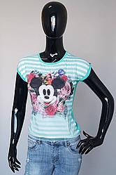 Детская футболка 3D «Микки Маус» для девочек