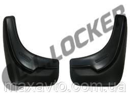 Брызговики MG 3 Сross HB (13-) (МГ 3 Кросс) (2 шт) передние (Lada Locker)